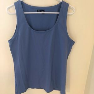 Team LTD periwinkle buttery soft exercise tank top